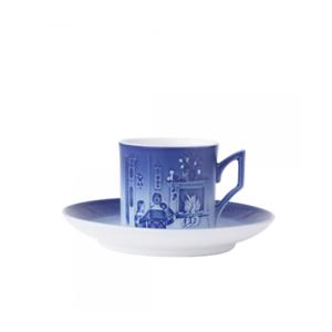 Royal Copenhagen Christmas Cup/Saucer - Tazza e piattino 2015