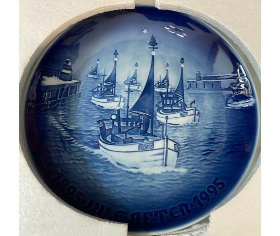 "Royal Copenhagen / Bing & Grondahl ""Jubilee Plate"" 1895-1995"