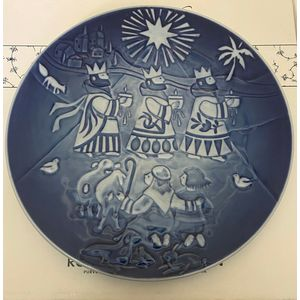 "Royal Copenhagen ""Children's Christmas Plate"" 2006 with free plaquette"