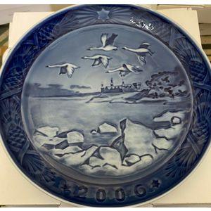 "Royal Copenhagen ""Christmas Plate"" 2006"