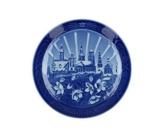 "Royal Copenhagen ""Christmas Plate"" 2008"