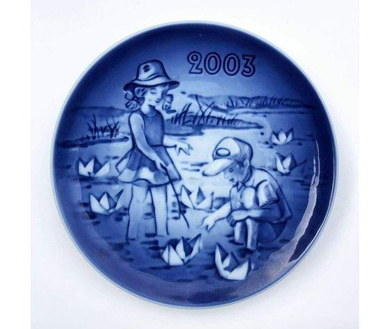 """Royal Copenhagen / Bing & Grøndahl """"Children's day plate"""" 2003"""