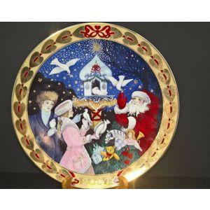 "Royal Copenhagen Hearts of Christmas ""The Dove of my Heart"" Plate 2007"