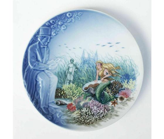 """Royal Copenhagen/Bing & Grondahl /Andersen The Storyteller """"The Little Mermaid"""""""