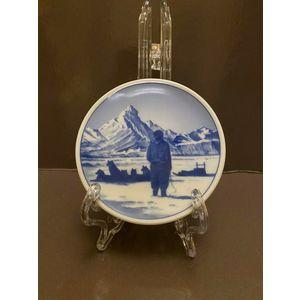 Royal Copenhagen Plaquette 8 cm