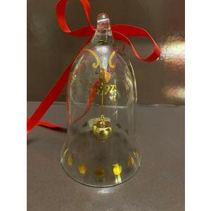 Royal Copenhagen / Holmegaard Glass Christmas Bell 1997