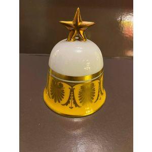 Richard Ginori Campana Arancio / Orange Bell / Porcellana e oro zecchino 24 kt