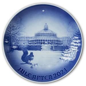 Royal Copenhagen/Bing & Grondahl Christmas plate 2021