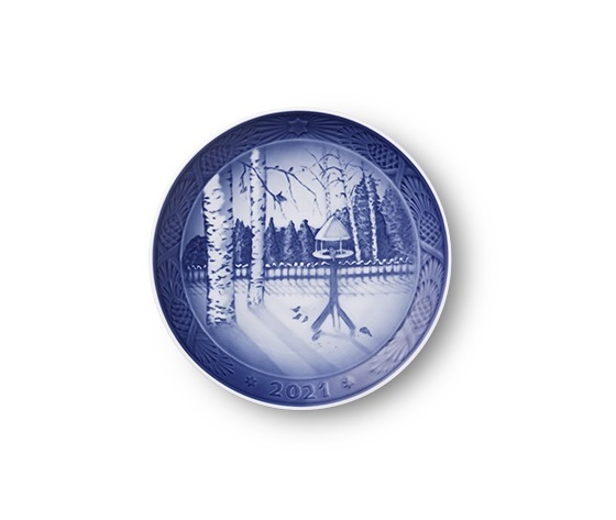 Royal Copenhagen Christmas Plate 2021