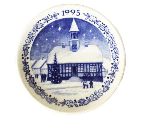 Royal Copenhagen Christmas Plaquette 1995