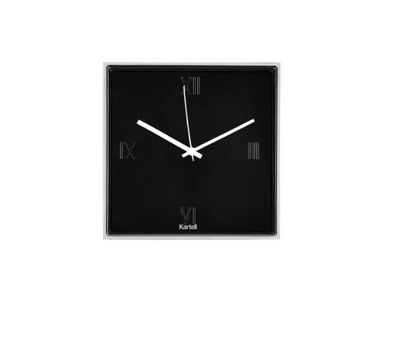 Kartell Tic&Tac Nero - orologio da parete