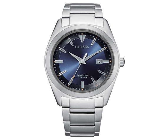 Citizen AW1640-83L orologio eco drive Super Titanio per uomo