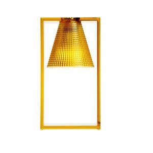 Kartell Light Air Sculturata lampada da tavolo Ambra