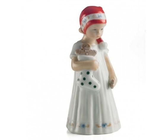 Royal Copenhagen Elsa bianca con calza mini