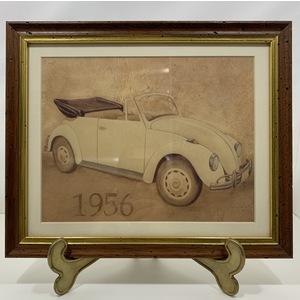 Stampa con Automobile 1956