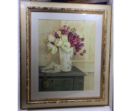 FALL: Stampa vaso con fiori