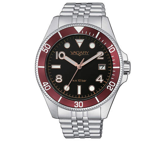 Vagary orologio VD5-015-53 Aqua 105th per uomo