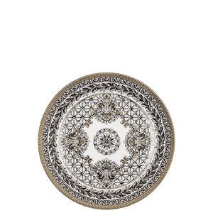 Versace e Rosenthal sono entrambi sinonimo di eccellenza e di alta qualità. Rosenthal deve la sua fama mondiale alla sua abilità di unire sempre tradizione e innovazione, mentre Versace è conosciuta in tutto il mondo per il suo glamour unico e lussuoso. Insieme sono in grado di creare collezioni di stoviglie e regali che sono eleganti, elaborate e contemporaneamente emozionanti, ispirate a epoche e culture differenti.  Collezione: Versace  Decoro:   Dimesione:  cm  Materiale: Porcellana