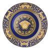 Versace ikarus medusa blue wandteller 30 cm 11400x1400 center