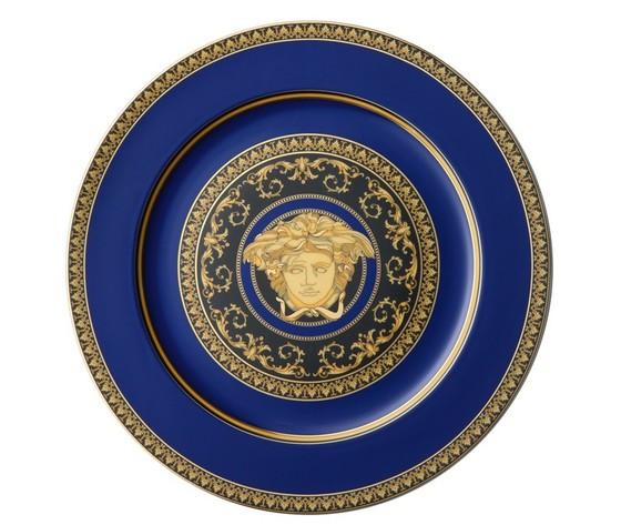 Versace Medusa Blu Piatto segnaposto 30 cm