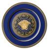 Versace medusa blau service plate 30cm