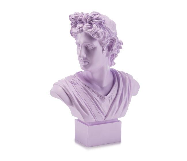 Lamart Palais Royal Busto Apollo Viola 35 cm