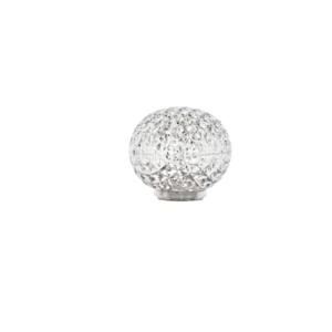 Kartell Lampada Mini Planet battery cristallo