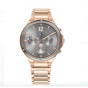 Tommy Hilfiger orologio Eve Multifunzione silver brc rose gold per donna