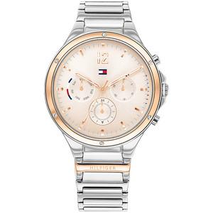 Tommy Hilfiger orologio Eve multifunzione rose gold brc silver per donna