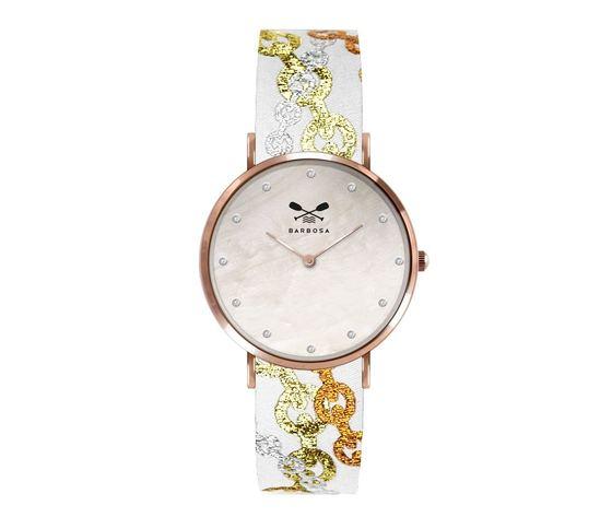 Barbosa orologio chain multicolor madreperla