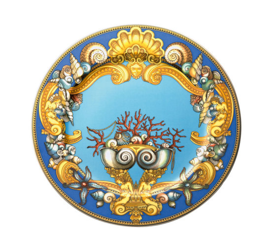 Versace Les Tresors de la Mer Piatto parete 30 cm