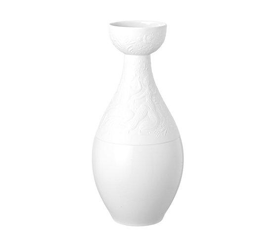 Rosenthal Vaso Zauberflöte Bianco 30 cm