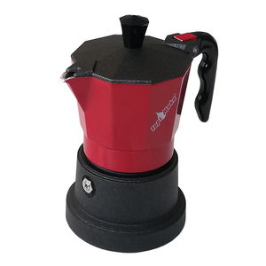 Caffettiera Top Moka 1 tazza rossa