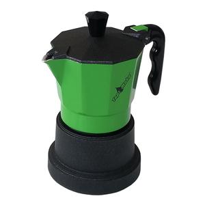 Caffettiera Top Moka 1 tazza verde
