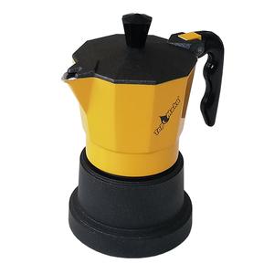 Caffettiera Top Moka 2 tazze gialla