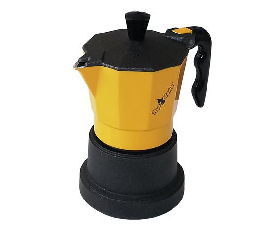 Caffettiera Top Moka 3 tazze gialla