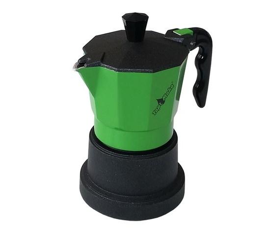 Caffettiera Top Moka 2 tazze verde