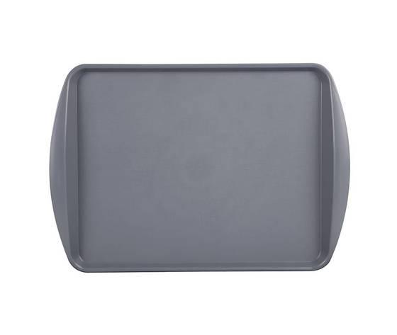 Vassoio rettangolare grigio