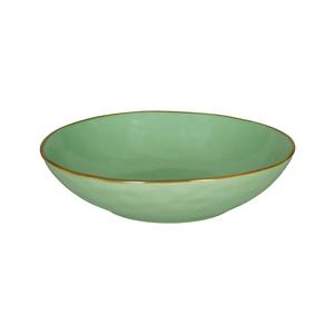 Piatto fondo Concerto verde acqua Ø 21 cm