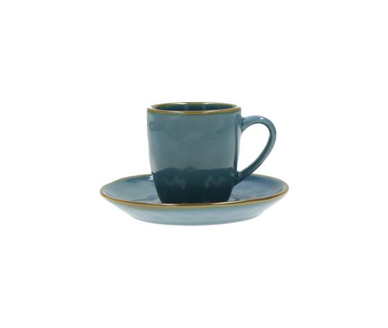 Tazza caffè c/p. Concerto blu avio 90 cc