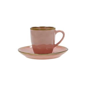 Tazza caffè c/p. Concerto rosa antico 90 cc