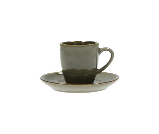 Tazza caffè c/p. Concerto grigio tortora 90 cc