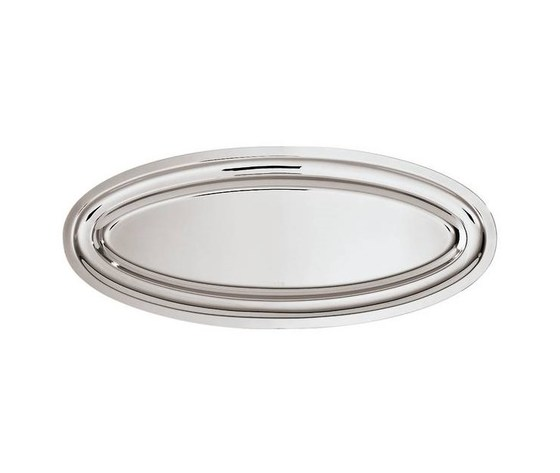 Piatto pesce elite  cm. 55 acciaio inox