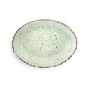 Vassoio ovale grande Terrae verde