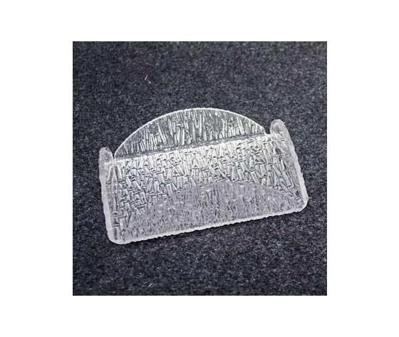 """Portatovaglioli plexiglas """"ghiaccio"""""""