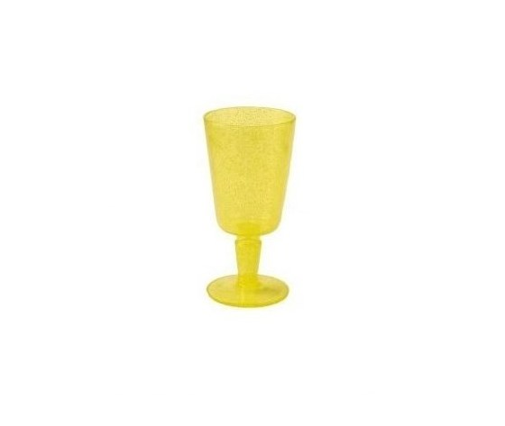 Calice goblet synth yellow trasparent