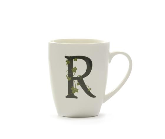 Mug lettera 'R' atupertu