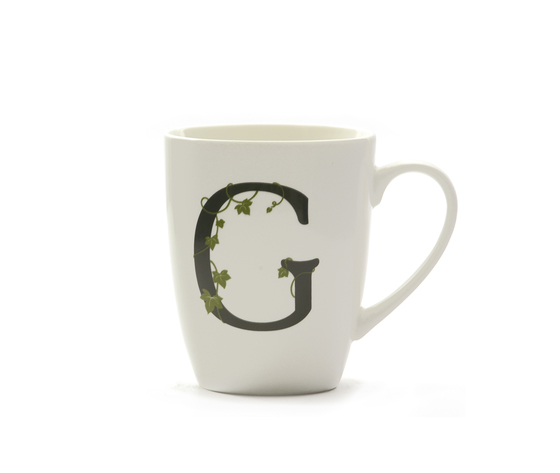Mug lettera 'G' atupertu