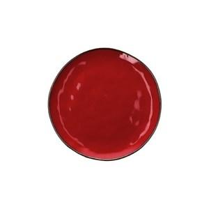 Piatto frutta Concerto rosso fuoco  Ø 20