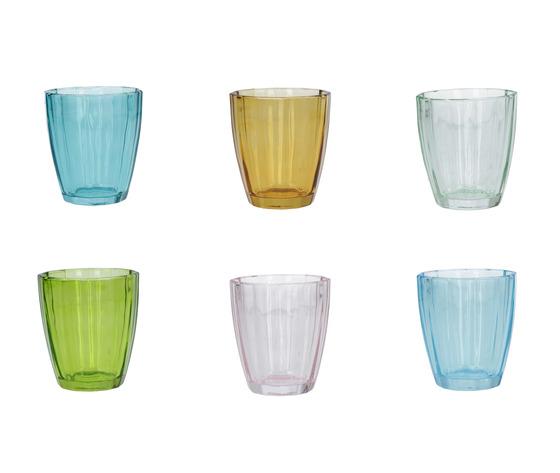 Set 6 bicchieri Amami mix